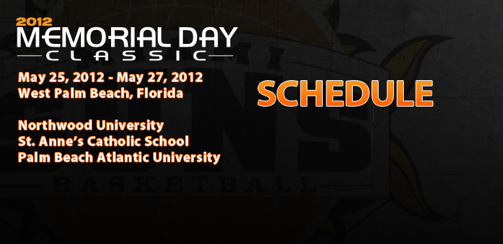 Miami Suns Girls Basketball Memorial Day Classic Schedule