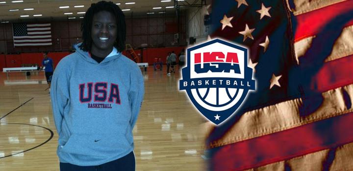 Team Fowles Kai James Makes 17U USA Basketball Team