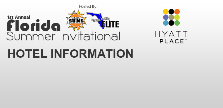 Hotel Information for Florida Summer Invitational