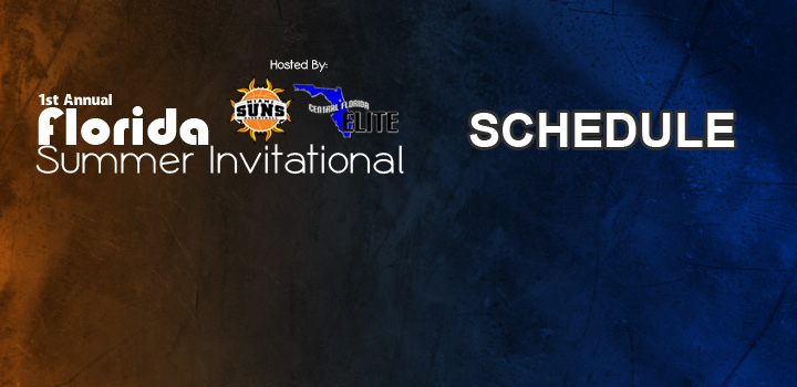 Florida's Summer Invitational Game Schedule