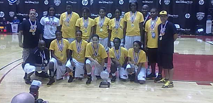 Team Folwes Wins AAU Gold Bracket Championship at Super Showcase