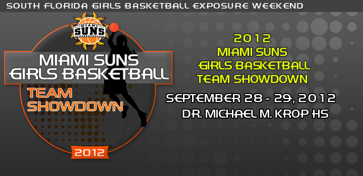 Miami Suns Girls Basketball Team Showdown Information