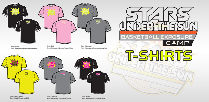 Official 2012 Stars Under The Sun Event T-Shirt ON SALE NOW!