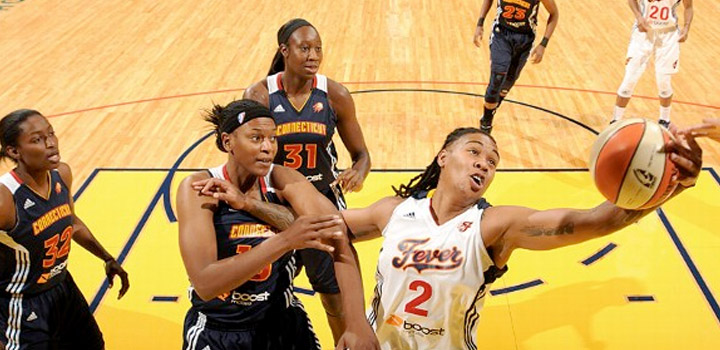Miami Suns Alumni Erlana Larkins Making Most of WNBA Return