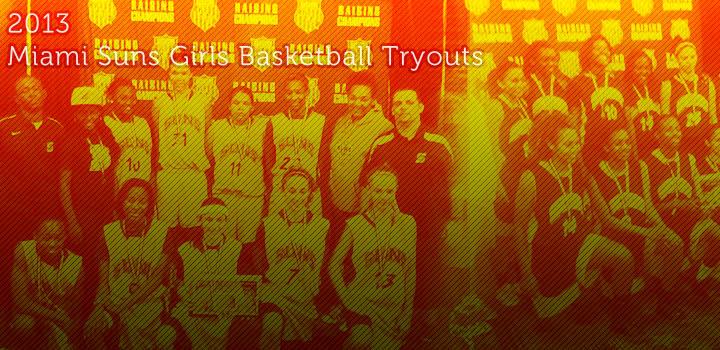 2014 Girls Basketball Tryouts