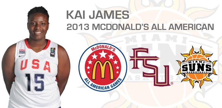 Suns & FSU Signee Kai James Named McDonald's All-American
