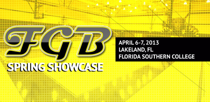 FGB Spring Showcase Info and Schedule