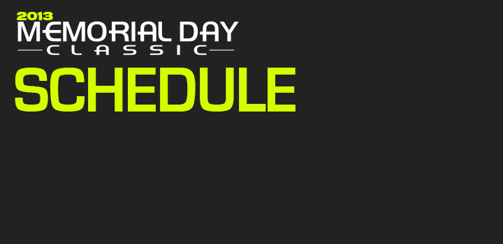 2013 Miami Suns Memorial Day Classic Schedule