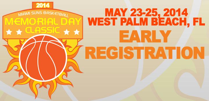 2014 Memorial Day Classic Registration
