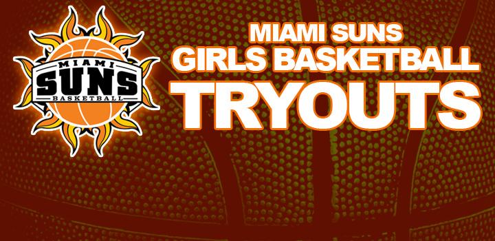 2014 Miami Suns Girls Basketball Tryouts