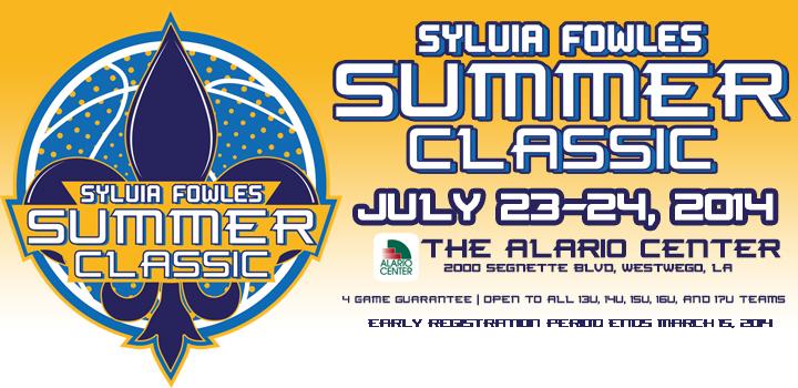 Sylvia Fowles Summer Classic Tournament Information