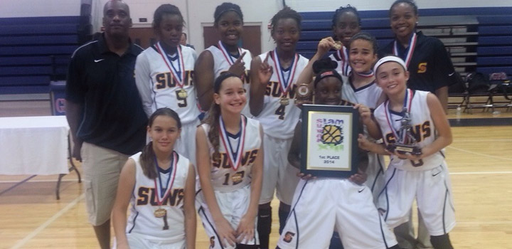 Suns 6th Grade Team Win First Place at Super Slam XIII