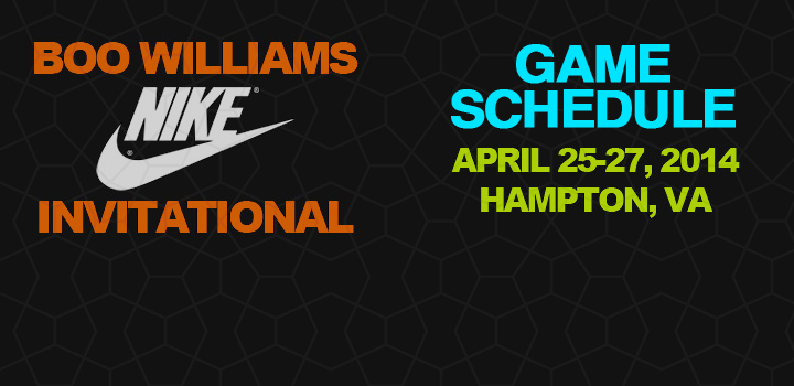Boo Williams Invitational – Game Schedules and Game Locations