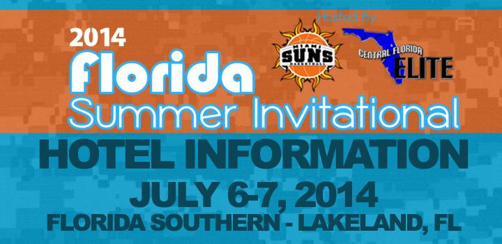 Hotel Information – 2014 Florida Summer Invitational