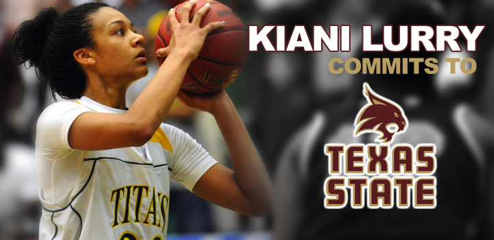 Kiani Lurry Commits to Texas State University