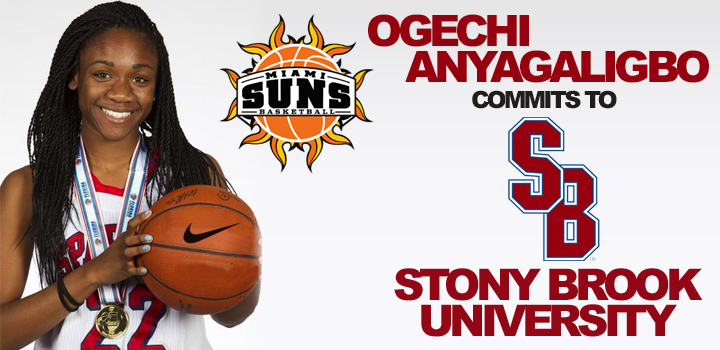 Ogechi Anyagaligbo Commits to Stony Brook University