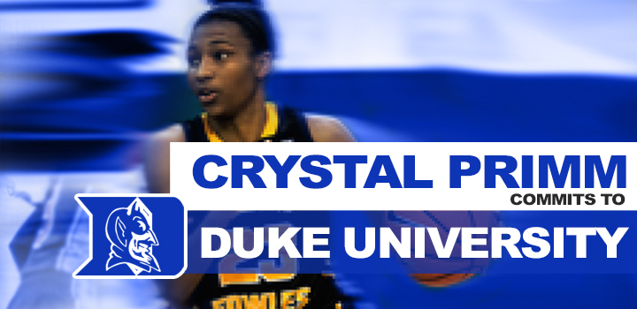 Crystal Primm Commits to Duke University
