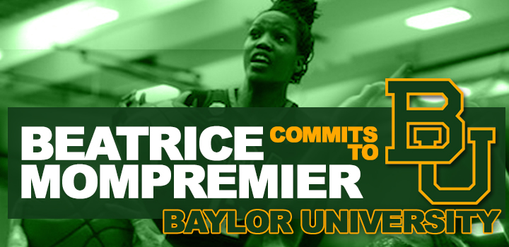 Beatrice Mompremier Commits to Baylor University