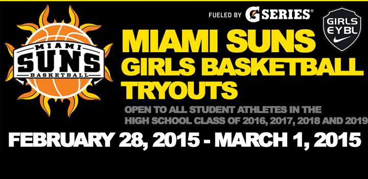 2015 Girls Basketball Tryouts