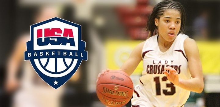 Chelsie Hall Invited To USA Basketball Women's 16U national team trials