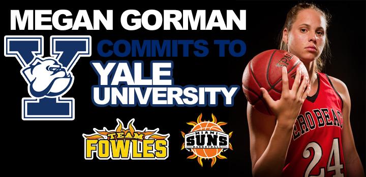Megan Gorman Commits to Yale University