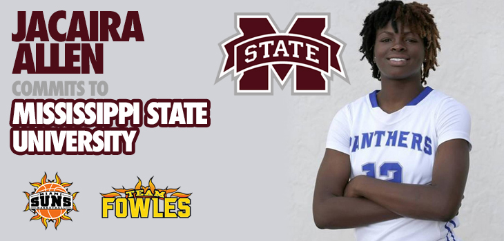 "Jacaira ""Iggy"" Allen Commits to Mississippi State University"